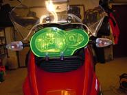 MC SAFE glas R1200GS & GSA, rörklammerfäste
