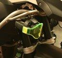 Gult glas till BMW extraljus