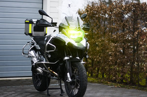 MCSAFE säkerhetsglas, BMW R 1200 GS/LC 2013 -, GSA/LC 2014 - enbart glas