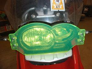 MC SAFE glas R1200GS & GSA Wunderlichfäste enbart glas ex fäste