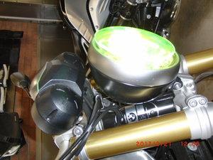 BMW R 9 T T Racer Runt gult glas